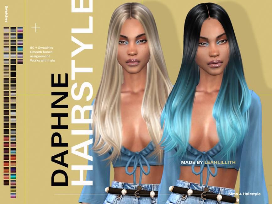 Женская прическа - Daphne Hairstyle