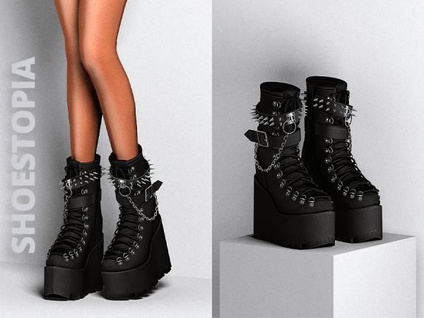 Женские ботинки - gothic boots