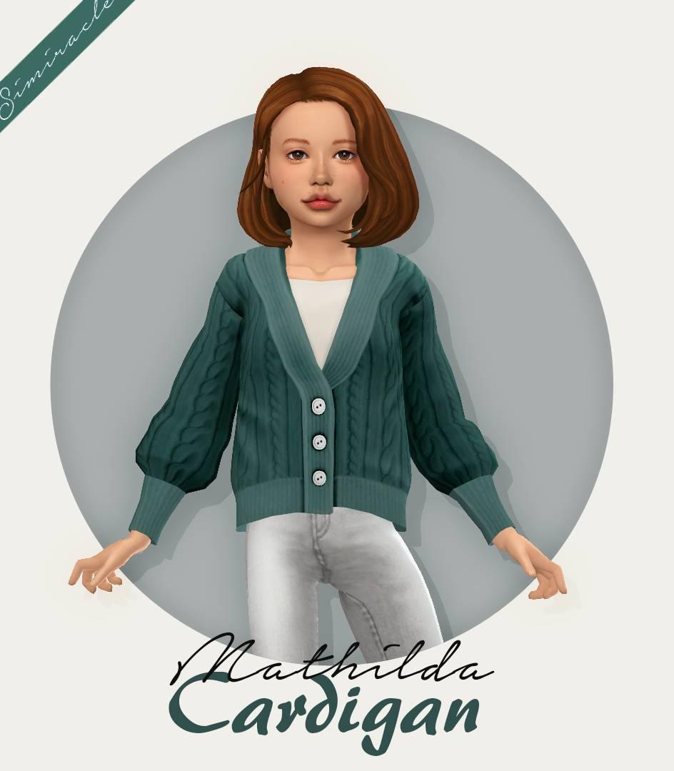 Кардиган и футболка - Mathilda Cardigan