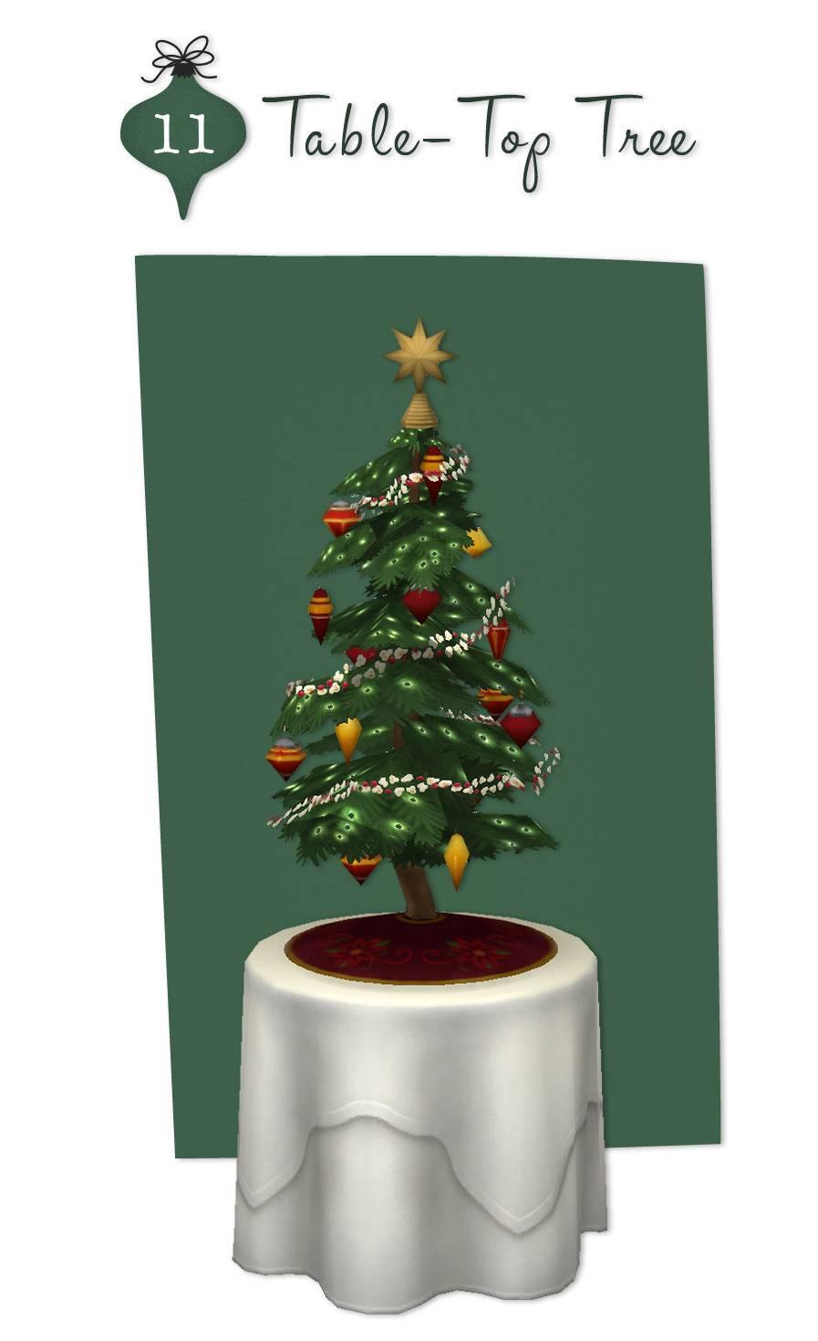 Новогодняя елка - Table-Top Tree