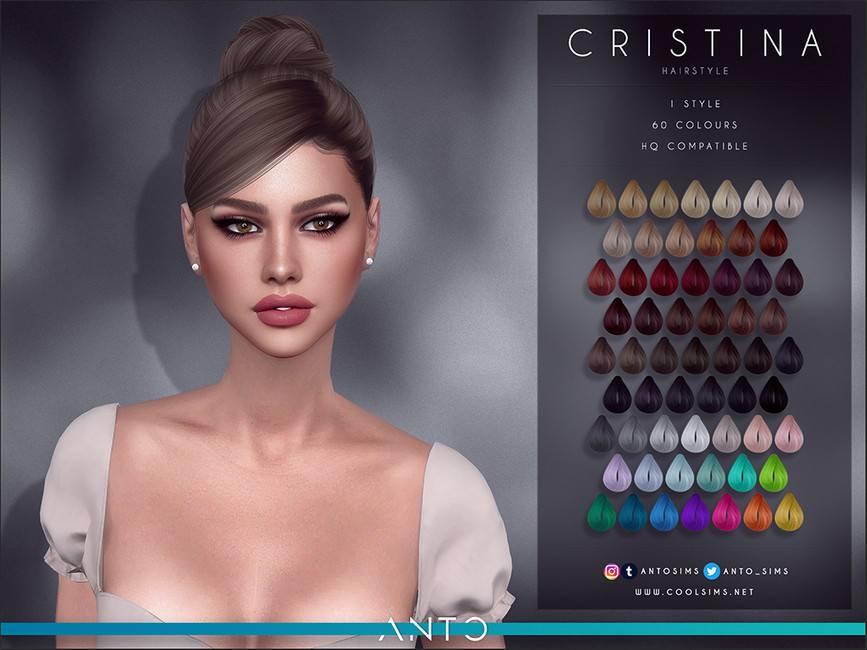 Женская прическа - Cristina