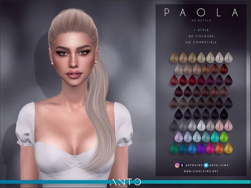 Женская прическа - Paola