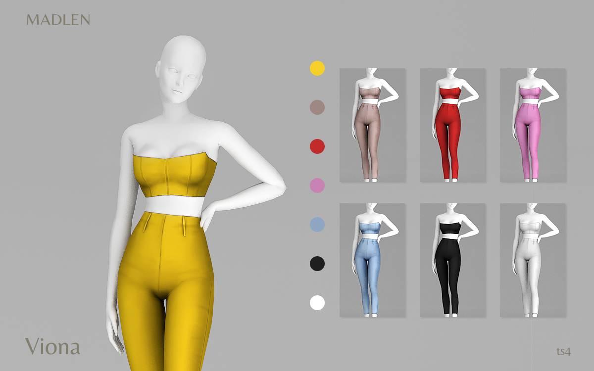 Топ и брюки - Viona Outfit