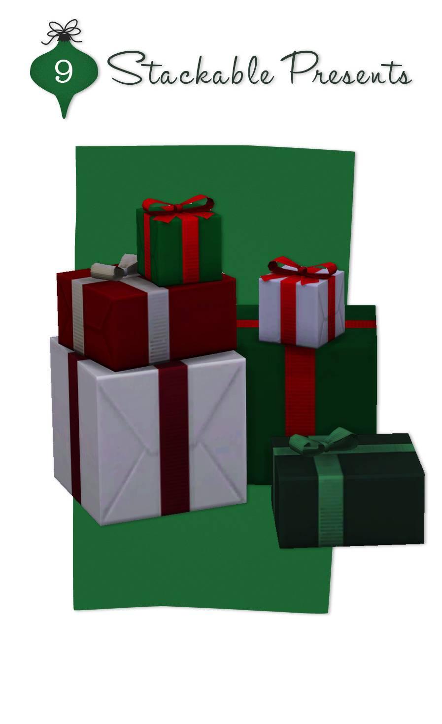 Подарочные коробки - Stackable Presents