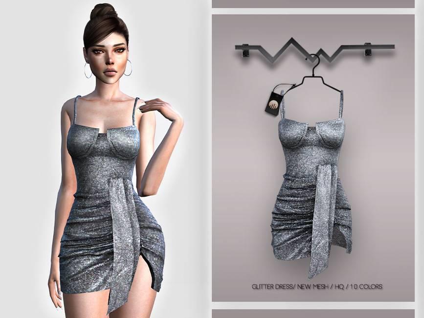 Платье - Glitter Dress BD395