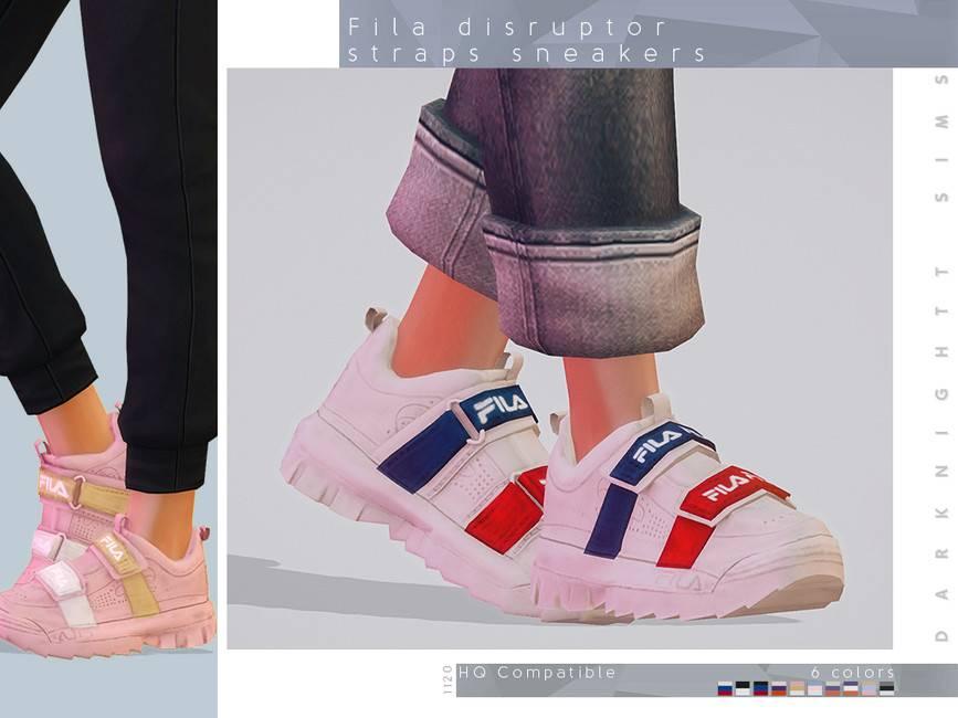 Женские кроссовки - Fila Disruptor Straps Sneakers
