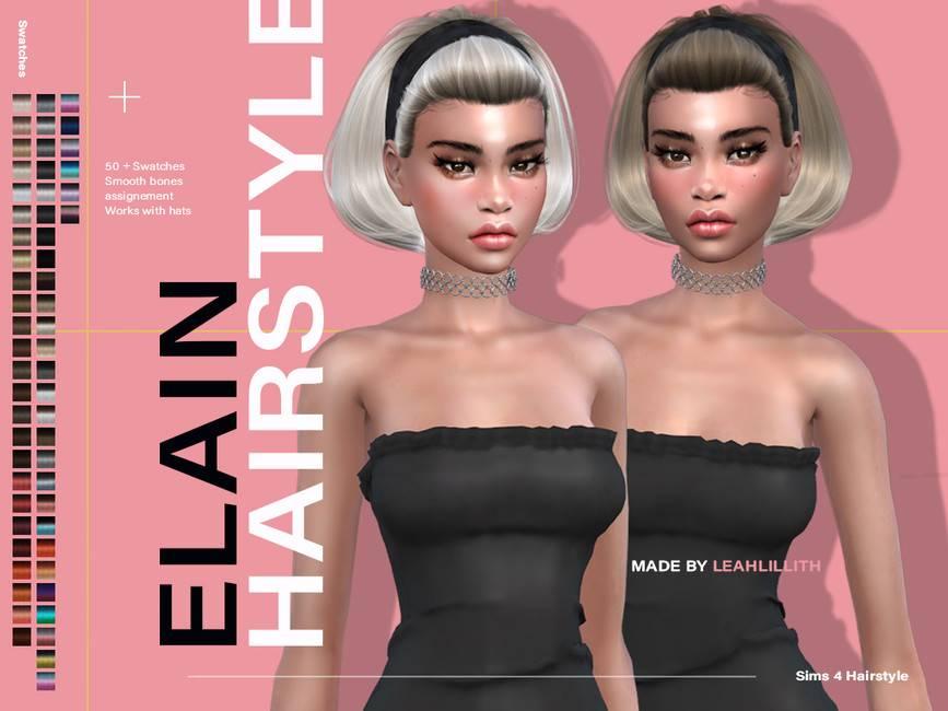Женская прическа - Elain Hairstyle