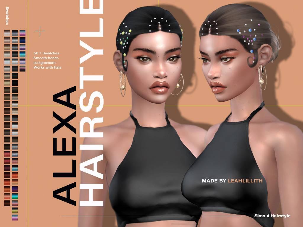 Женская прическа - Alexa Hairstyle