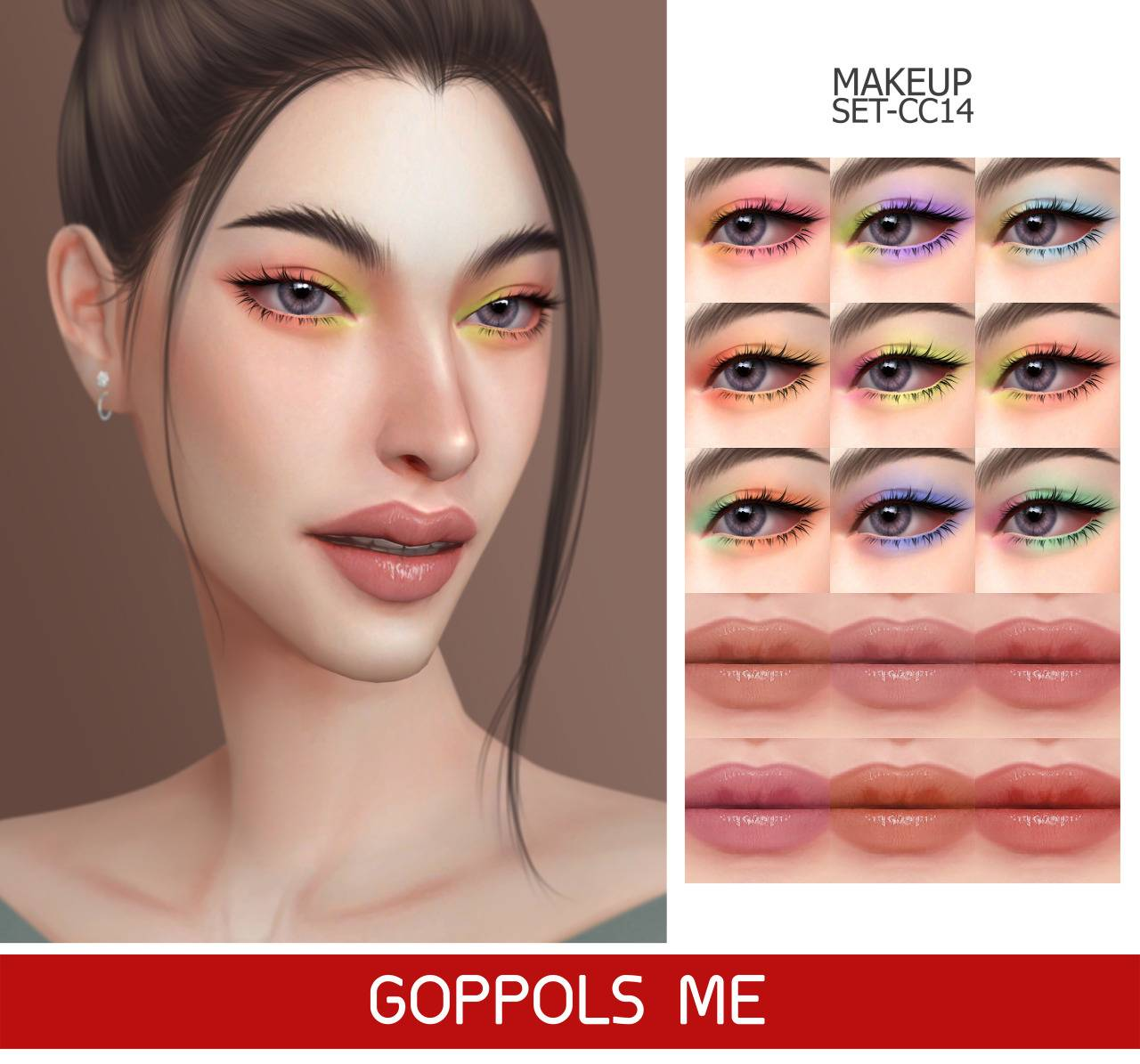 Набор косметики - MAKEUP SET CC14