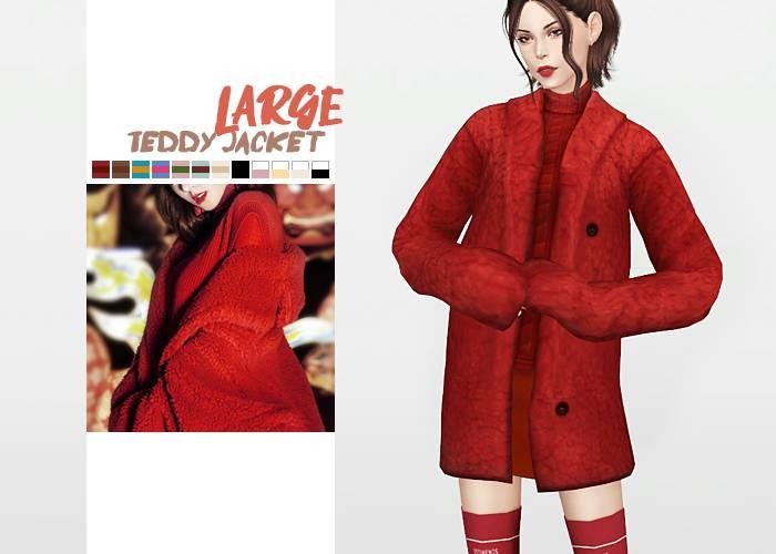 Куртка и свитер - Large Teddy Jacket