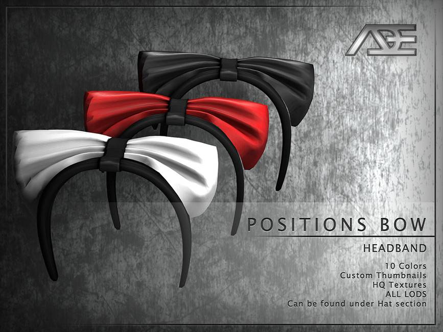 Ободок - Positions Bow