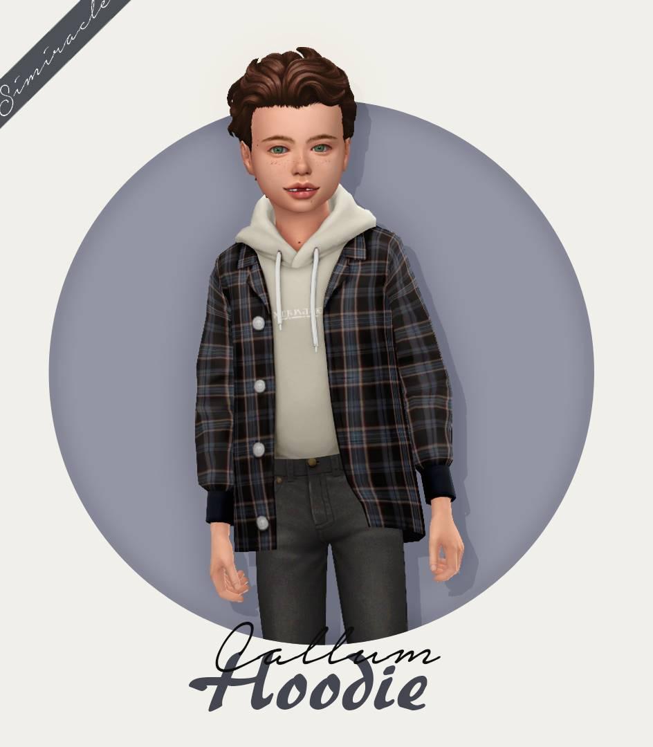 Рубашка и худи - Callum Hoodie
