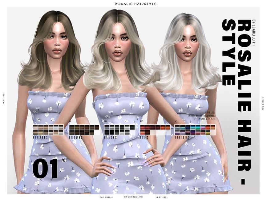 Женская прическа - Rosalie Hairstyle