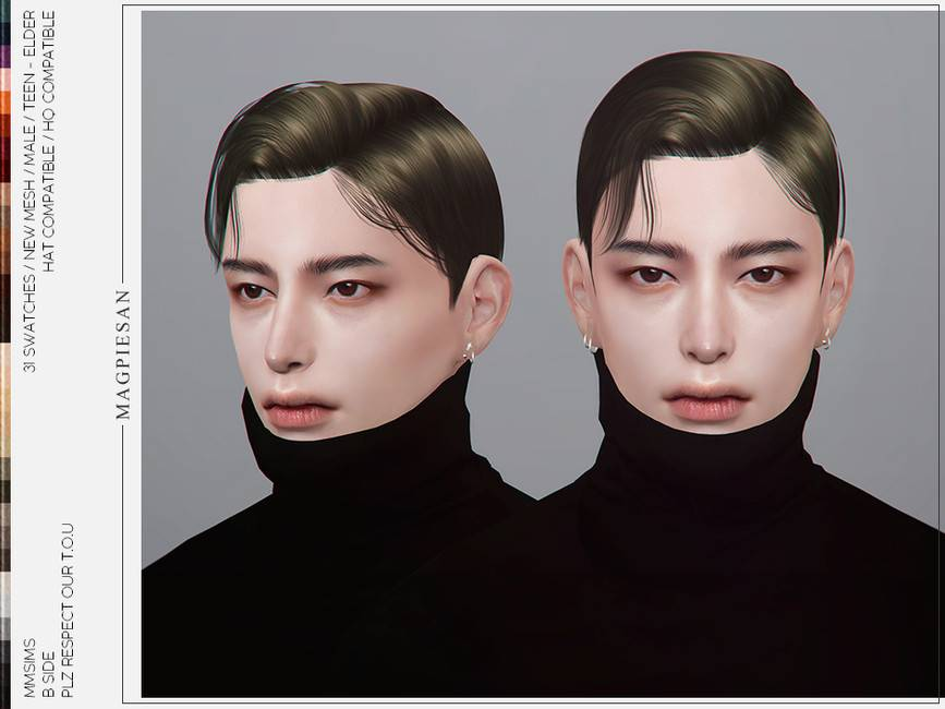 Мужская прическа - B Side Hair