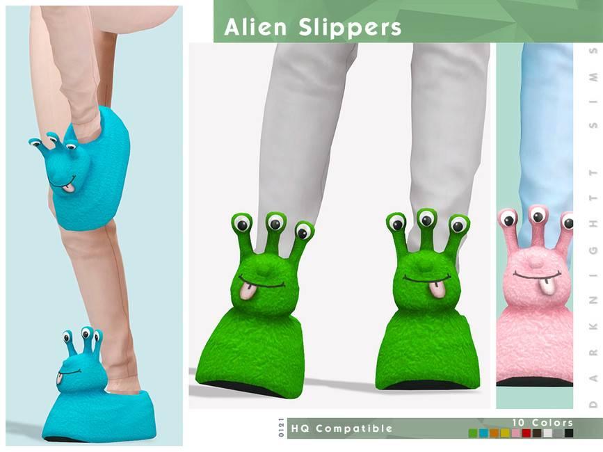Тапочки - Alien Slippers