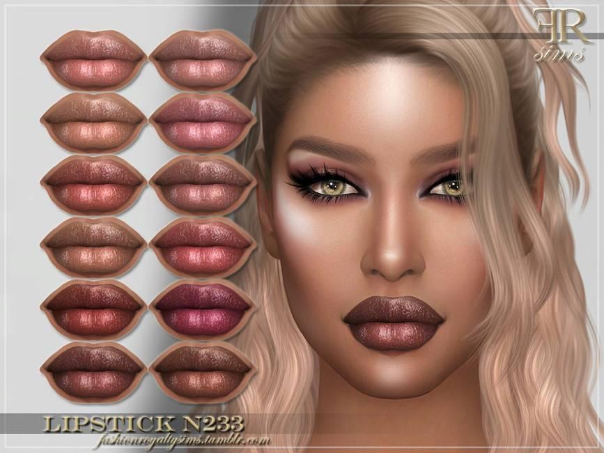 Блеск для губ - FRS Lipstick N233