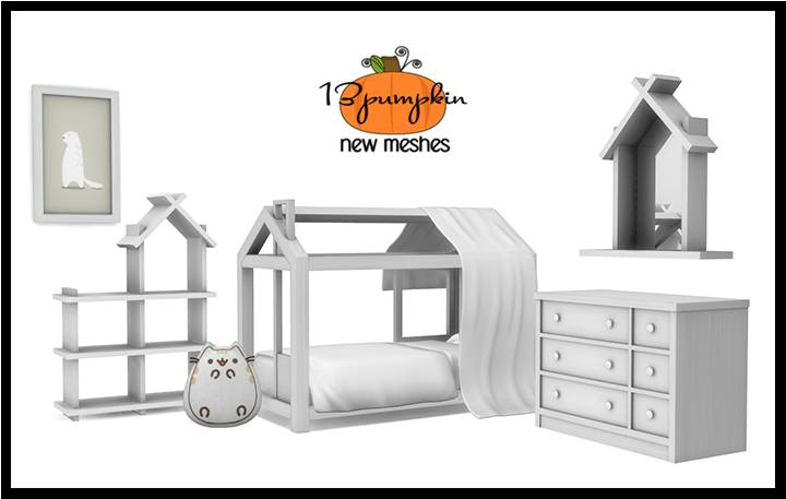 Детская комната - Willow Tiny House Toddler Bedroom