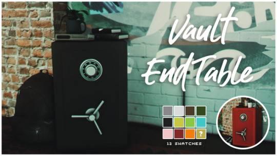 Сейф - Vault End Table