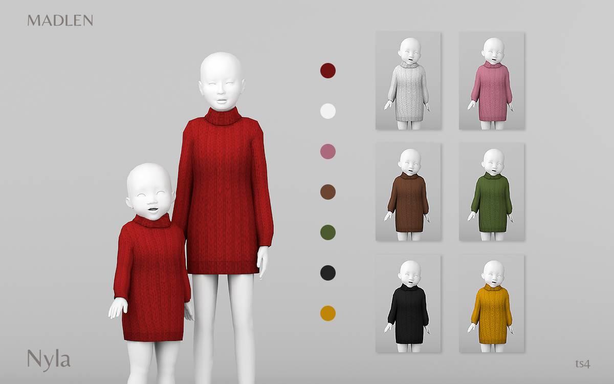 Платье для девочек и малышек - Nyla Dress