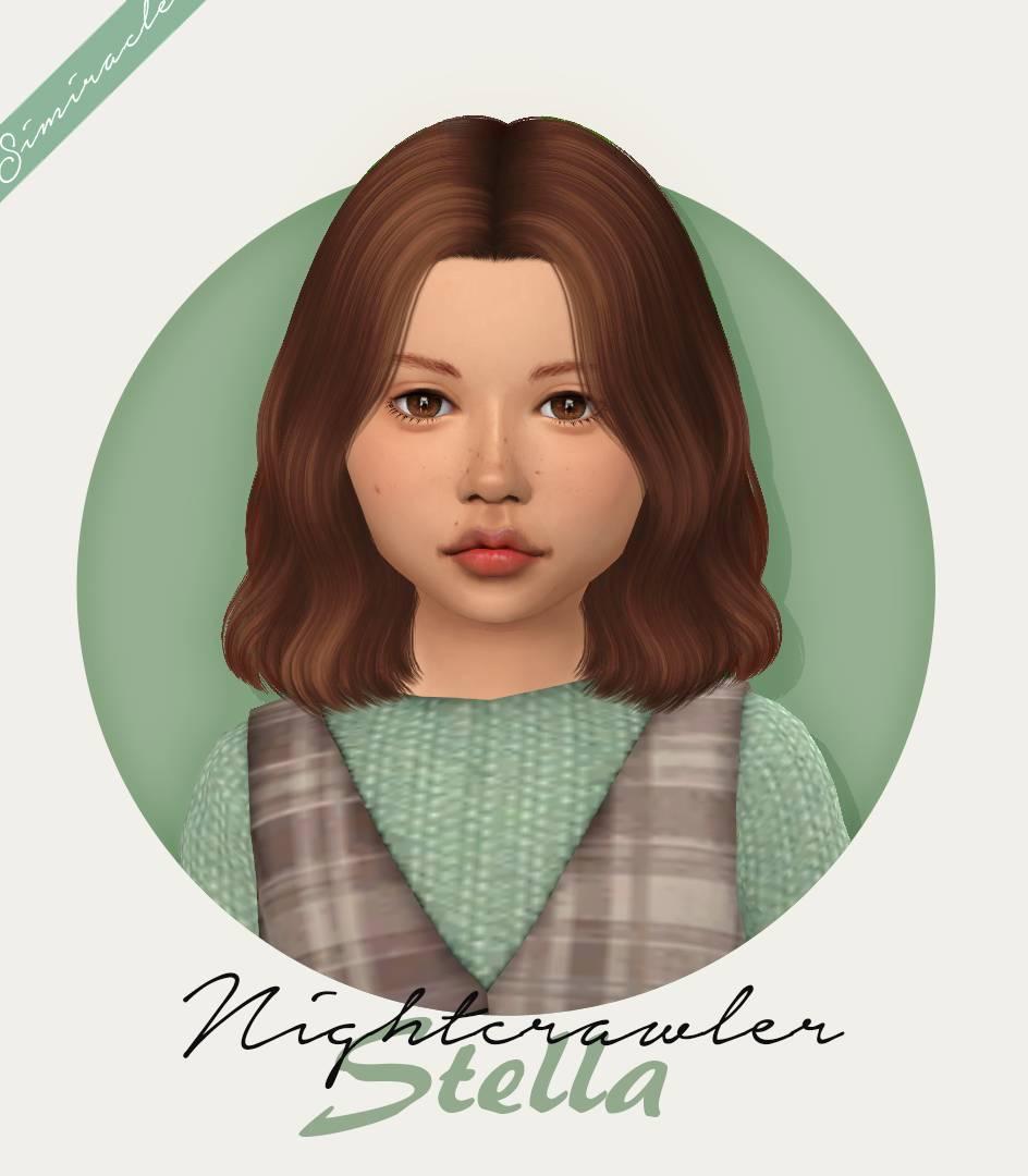 Детская прическа - Nightcrawler Stella
