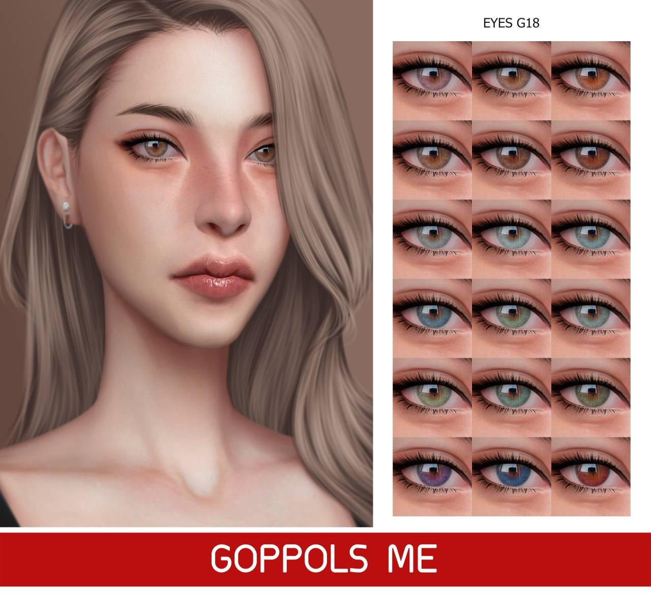 Линзы - Eyes G18