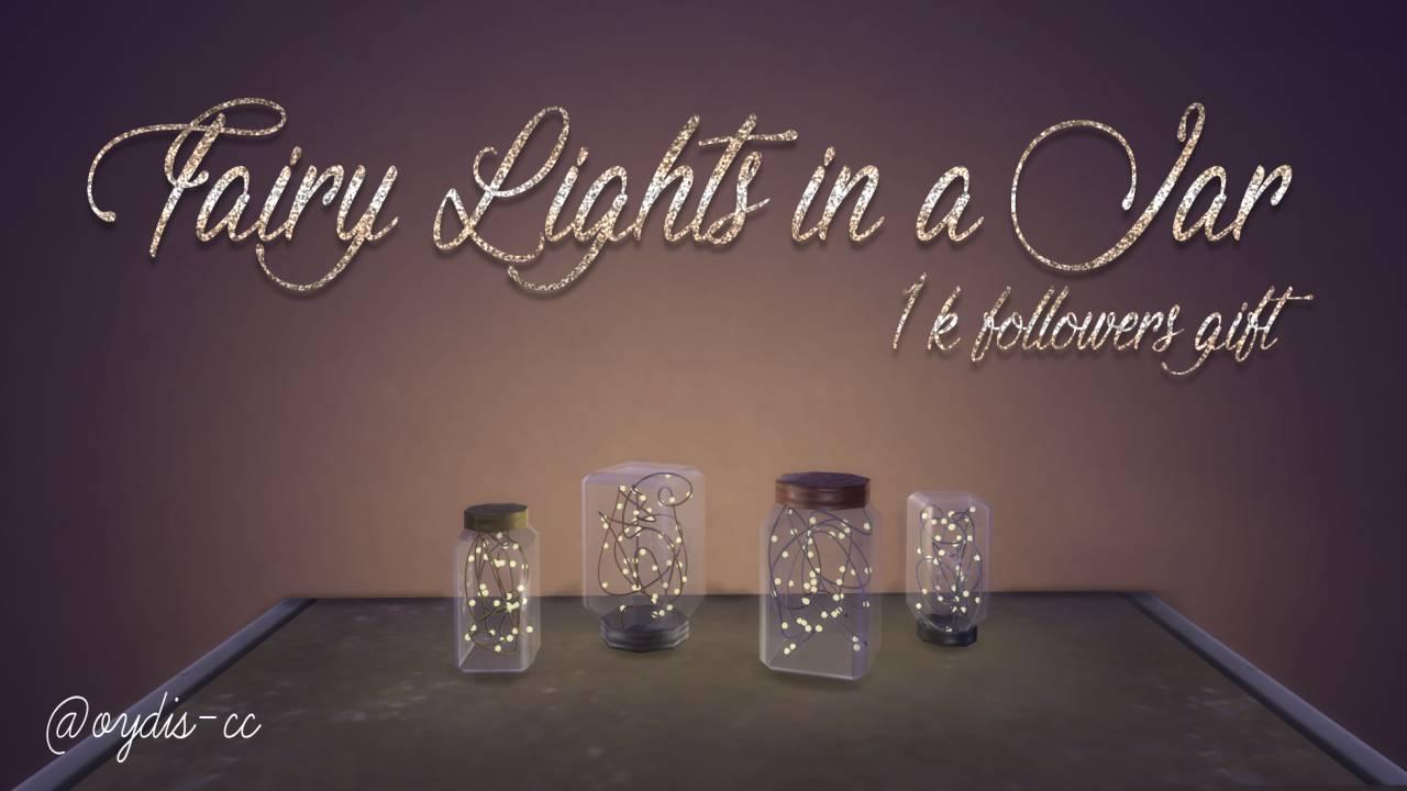 Лампы - Fairy Lights in a Jar