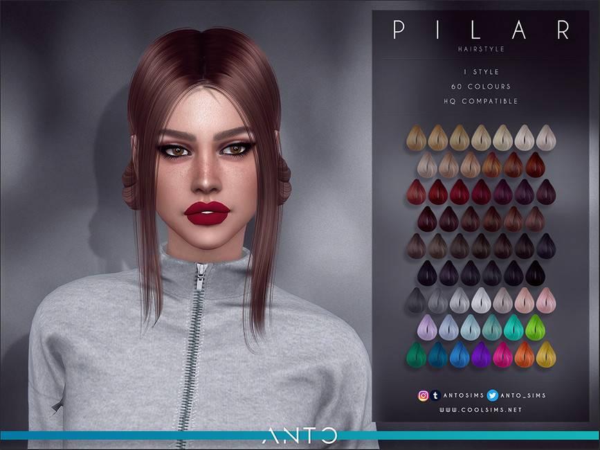 Женская прическа - Pilar