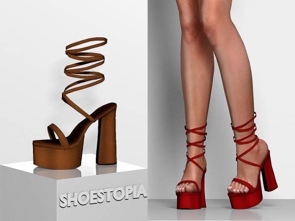 Босоножки - lili high heels