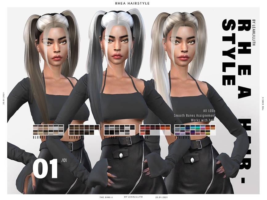 Женская прическа - Rhea Hairstyle