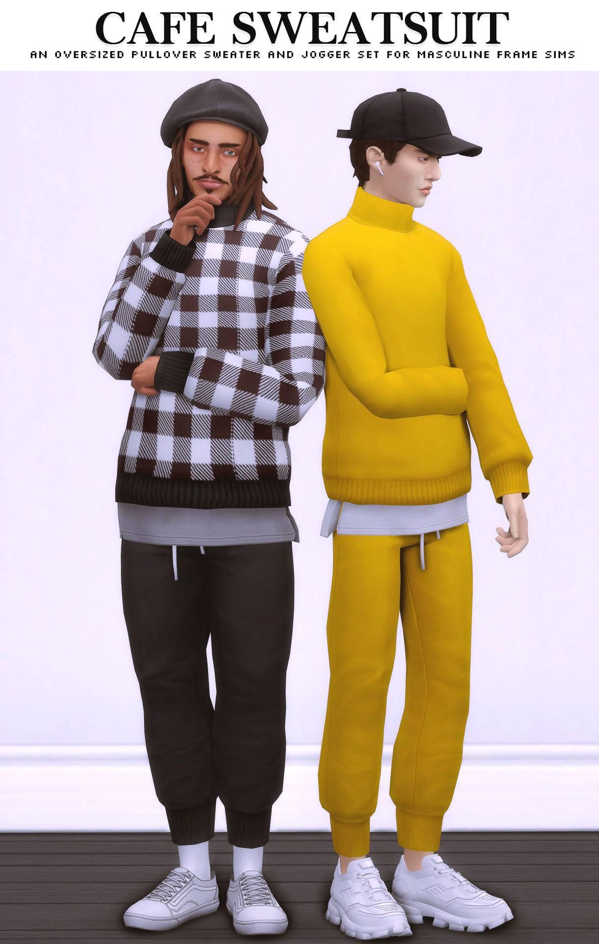 Пуловер и джоггеры - Cafe Sweatsuit