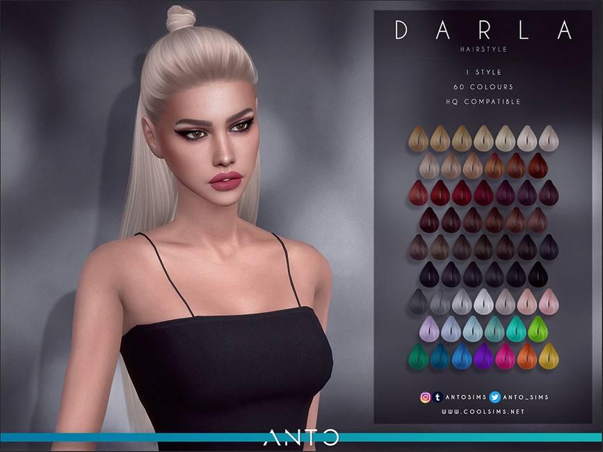 Женская прическа - Darla