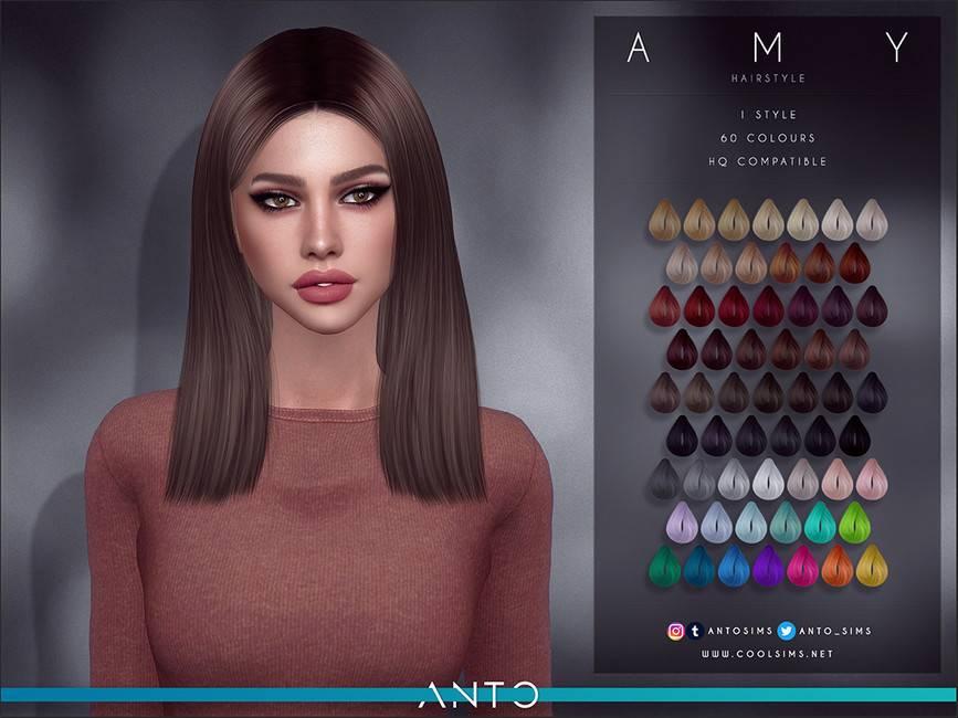 Женская прическа - Amy