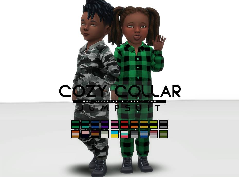 Комбинезон для малышей - COZY COLLAR JUMPER