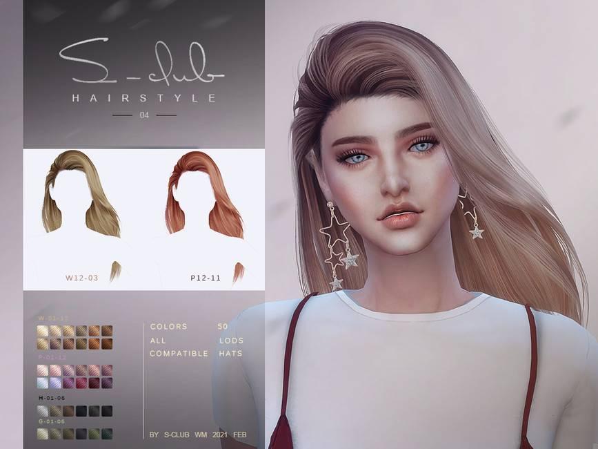 Прическа - Hair 202104
