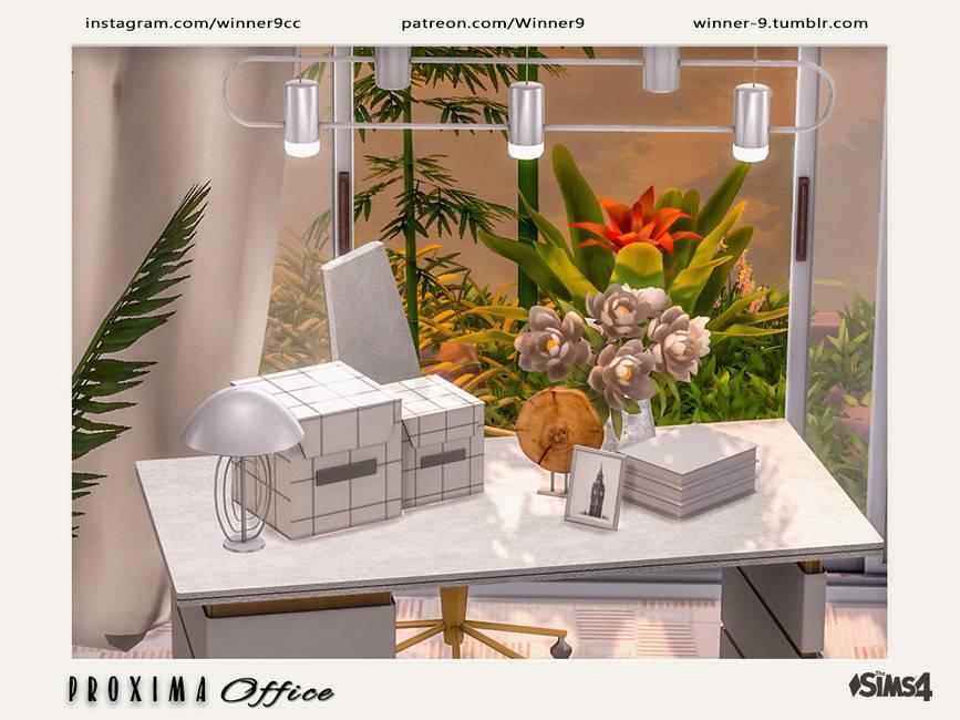 Набор декора для рабочего места - Proxima Office Decorations