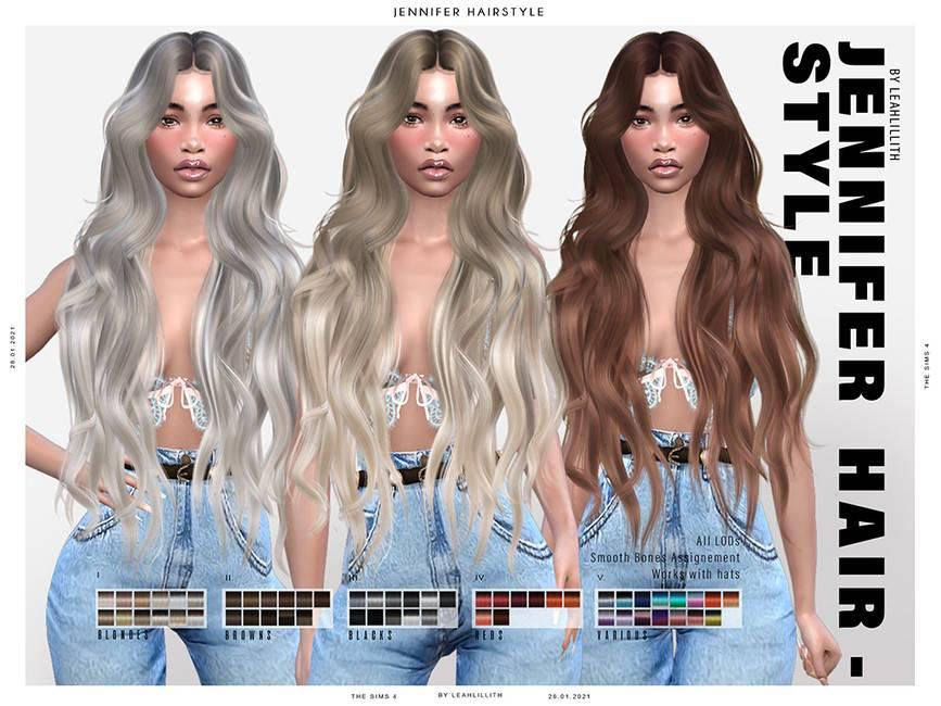 Женская прическа - Jennifer Hairstyle
