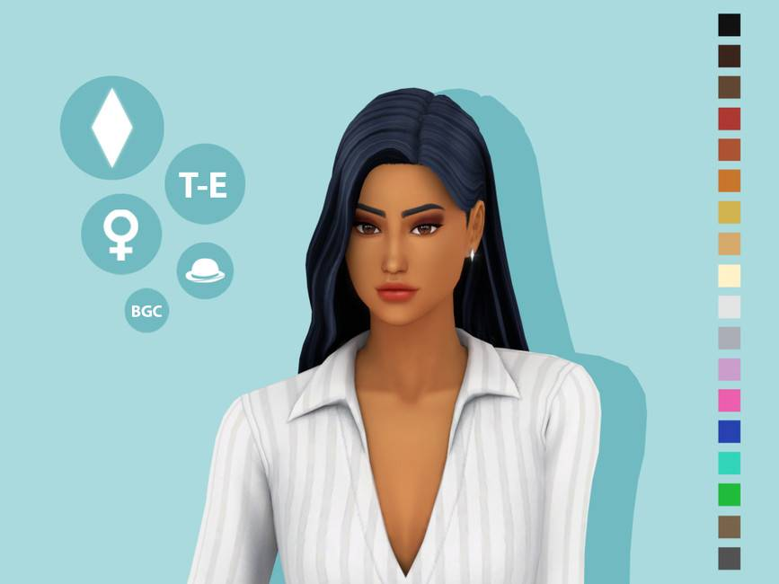 Женская прическа - Emmi Hairstyle