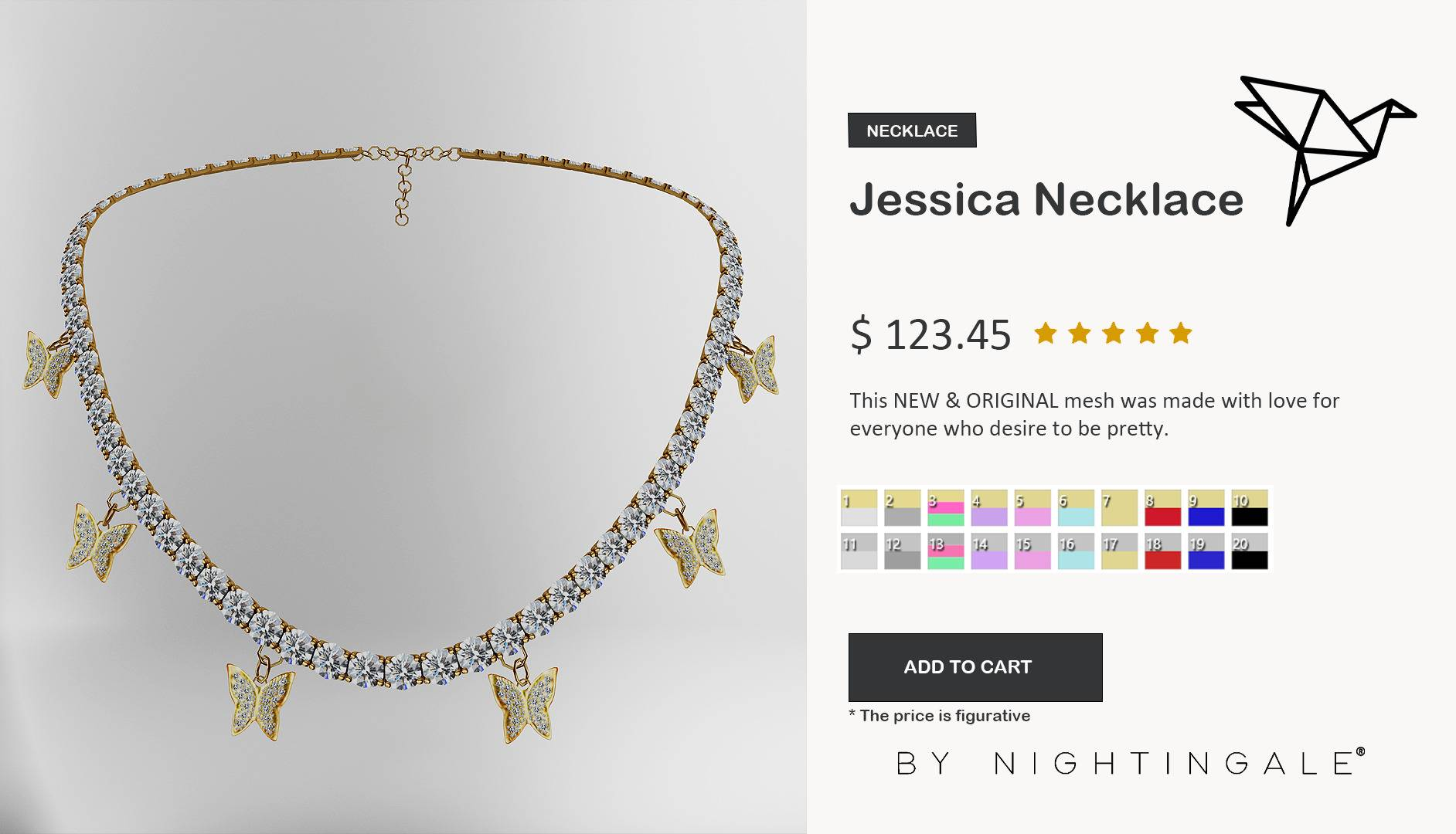Ожерелье - Jessica Necklace