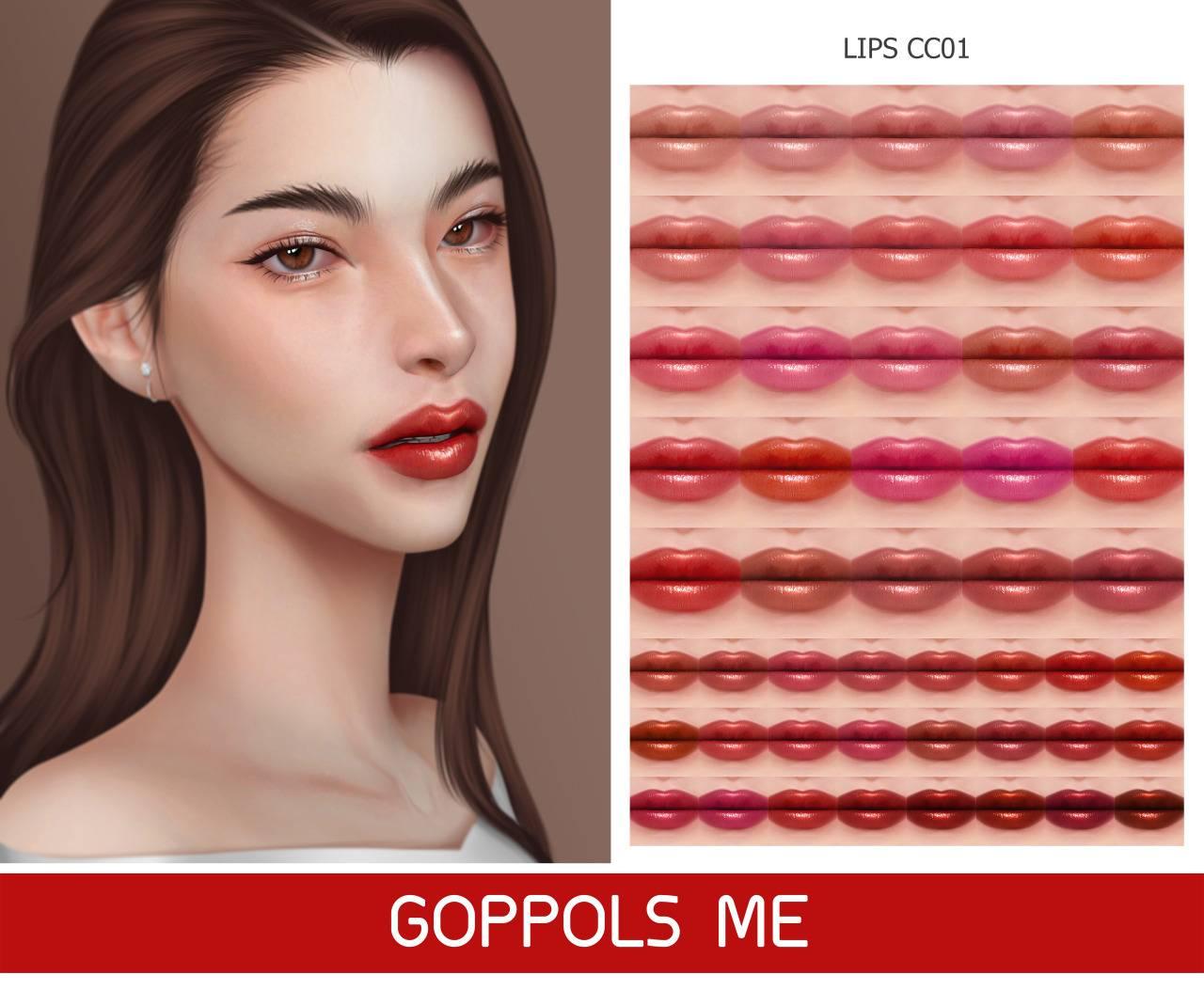 Помада - Lips CC01