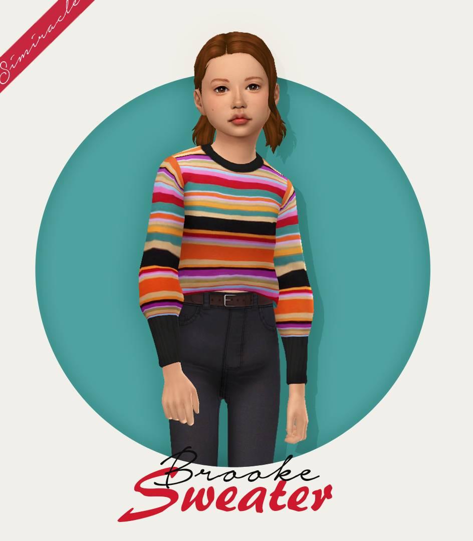 Детский свитер - Clumsyalien Brooke Sweater