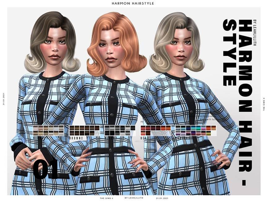 Женская прическа - Harmon Hairstyle