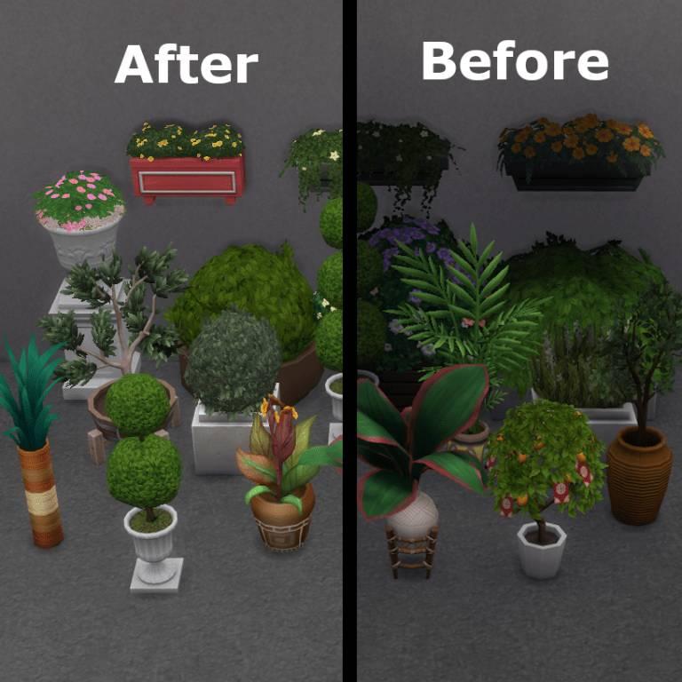 Исправление теней растений - Plant Shadow Fixes