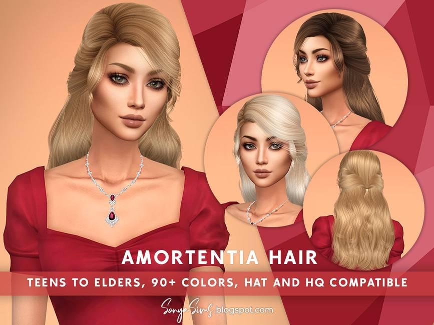 Женская прическа - Amortentia Hair