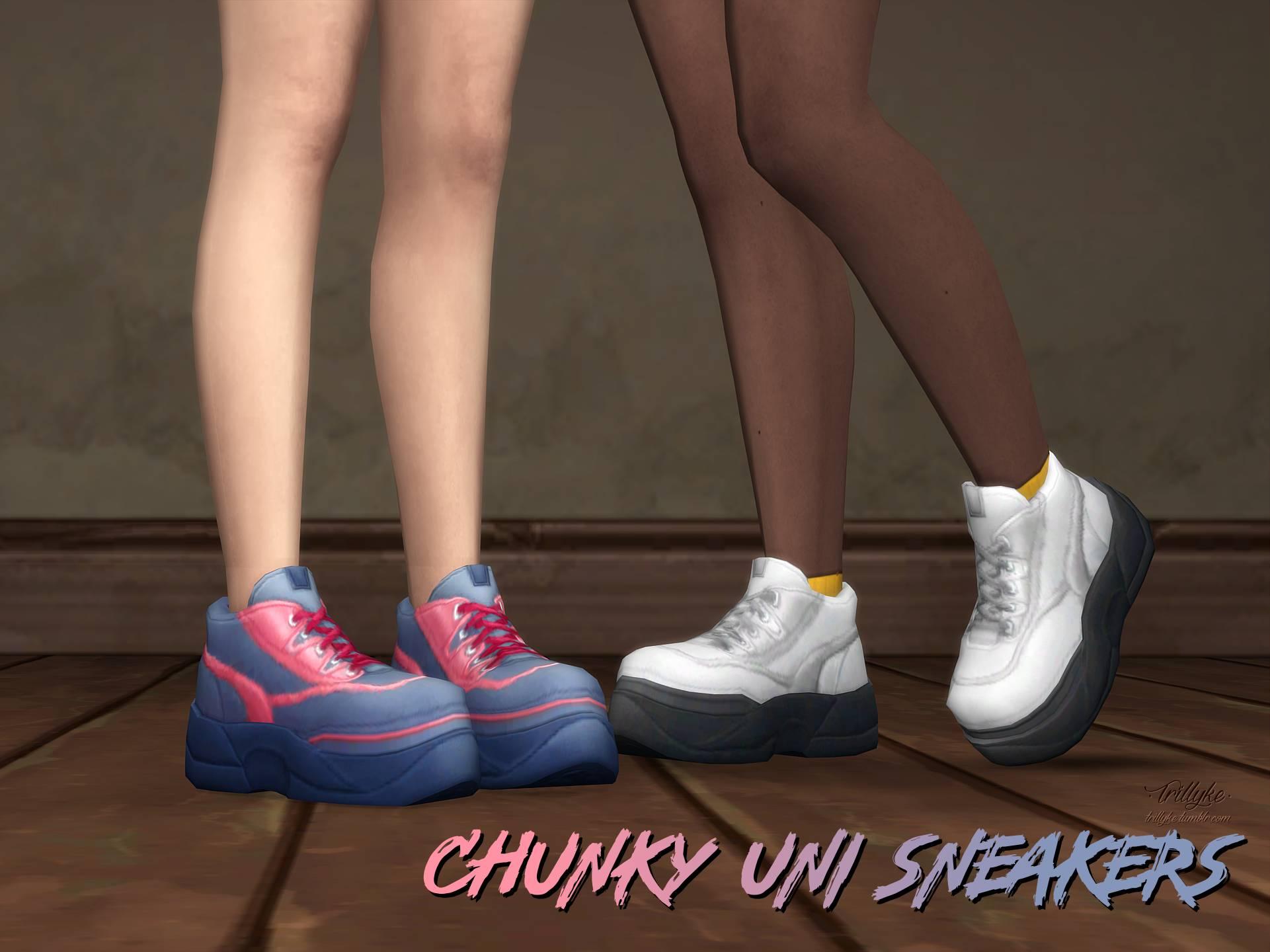 Кроссовки - Chunky Uni Sneakers
