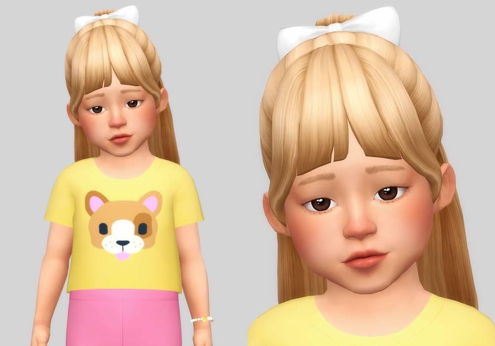Прическа для малышек - rina hair