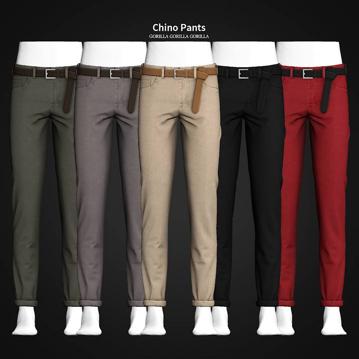 Мужские брюки - Chino Pants