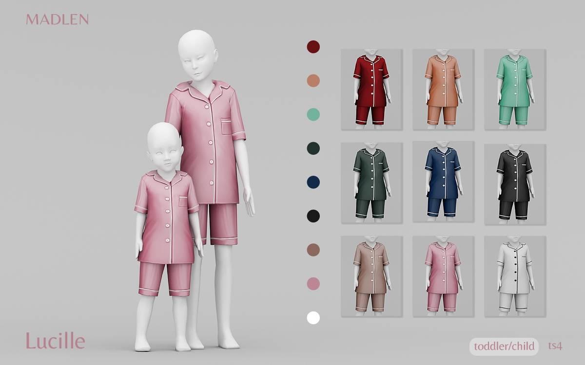 Пижама для детей и тоддлеров - Lucille Pyjamas