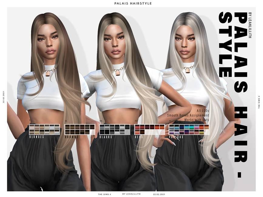 Женская прическа - Palais Hairstyle