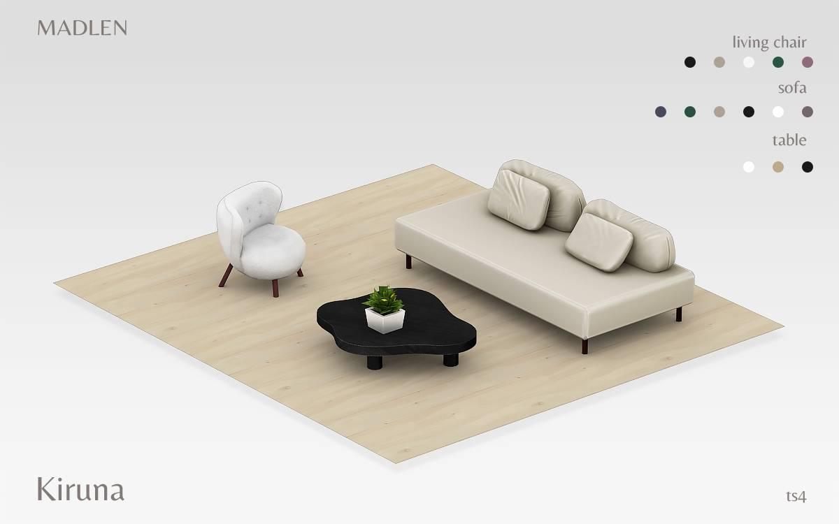 Сет для гостиной - Kiruna Living Set