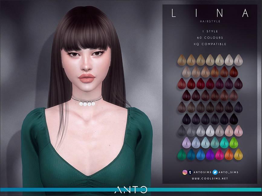 Женская прическа - Lina